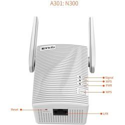 Tenda N300 A 301 Mini Wi-Fi Extender con Porta Ethernet