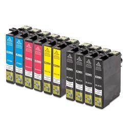 Kit 10 Cartucce per Epson 4 X T2991, 2 X T2992, 2 X T2993, 2 X T2994