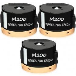 3 X AL-M200 Toner per Epson Workforce