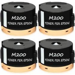 4 X Toner per Epson Workforce AL-M200