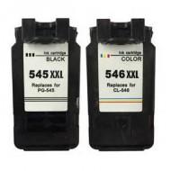 CL-546, PG-545 XXL BK-Color Cartucce per Canon