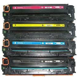 KIT 4 Toner per HP LaserJet Pro 200 Color M251