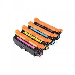Kit 4 Toner per HP CF400X, CF401X, CF402X, CF403X