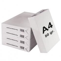 Carta A4 - 80 gr. 500 Fogli, 1 Risma