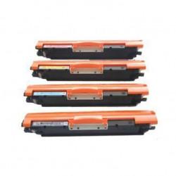Kit 4 Toner per HP CF350A, CF351A, CF352A, CF353A