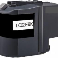 LC-22EBK Cartuccia Nera per Brother