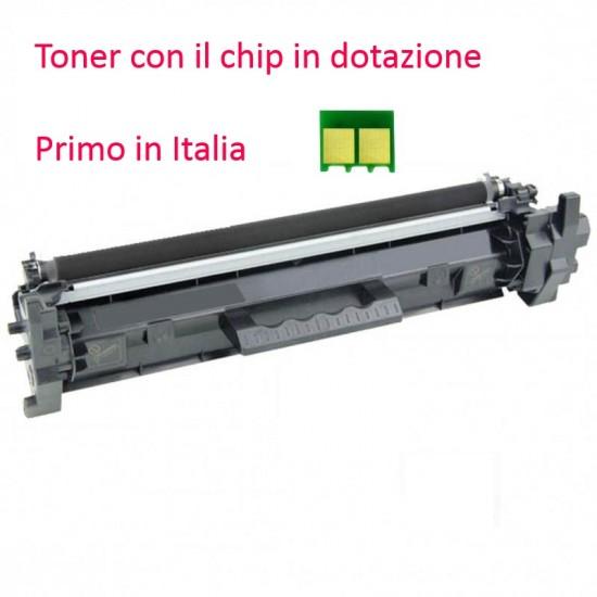 Toner HP con chip per CF217A HP Laserjet Pro M102, M130, M132, M134 (AM)